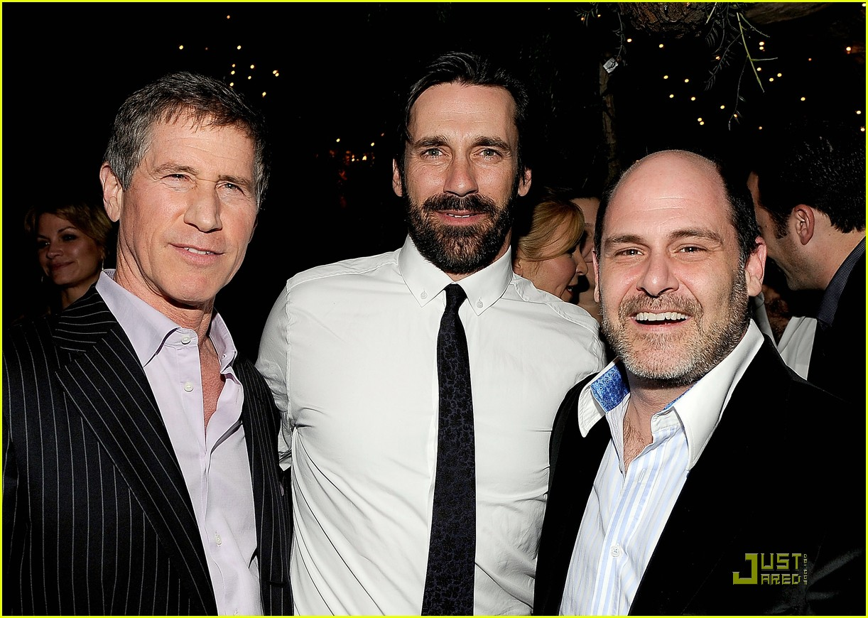 mad men wins top honors jon hamm still bearded 11