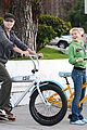 chad michael murray kenzie dalton biking 02