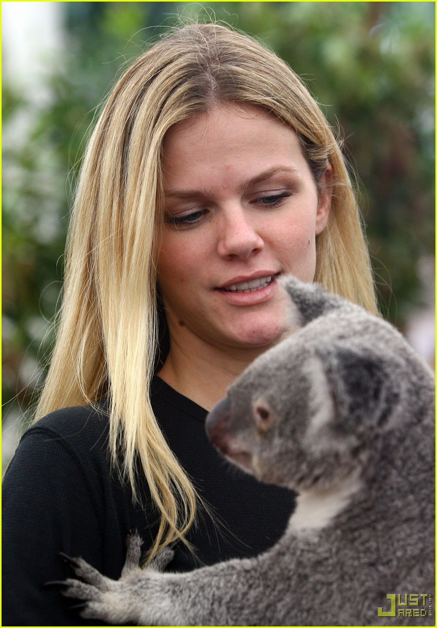 andy roddick brooklyn decker koala couple 08