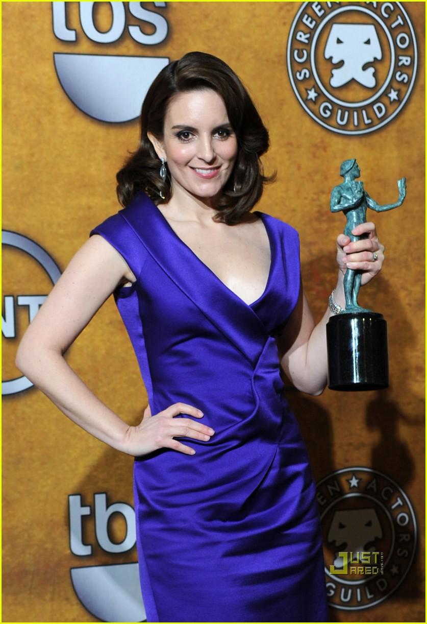 tina fey 2010 sag awards 01