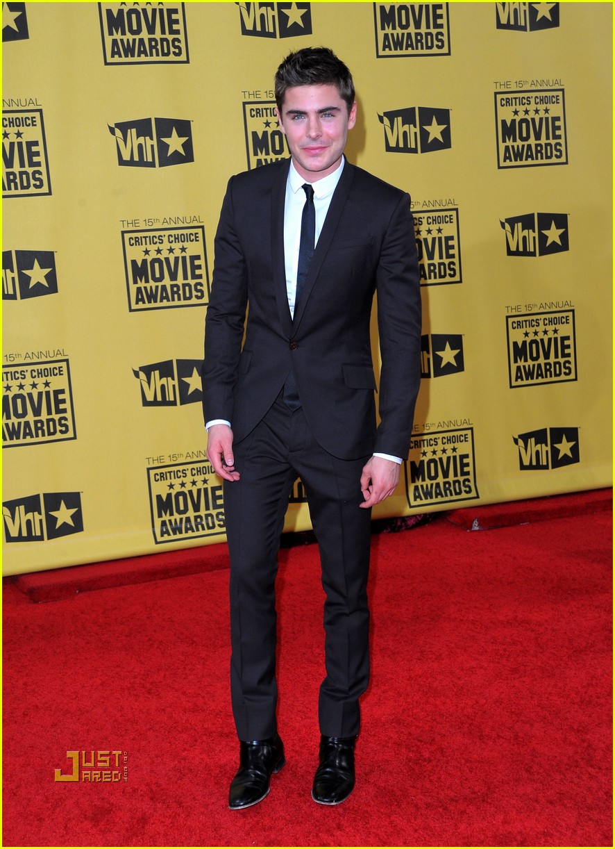 zac efron critics choice awards 2010 03
