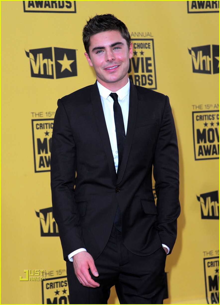 zac efron critics choice awards 2010 04