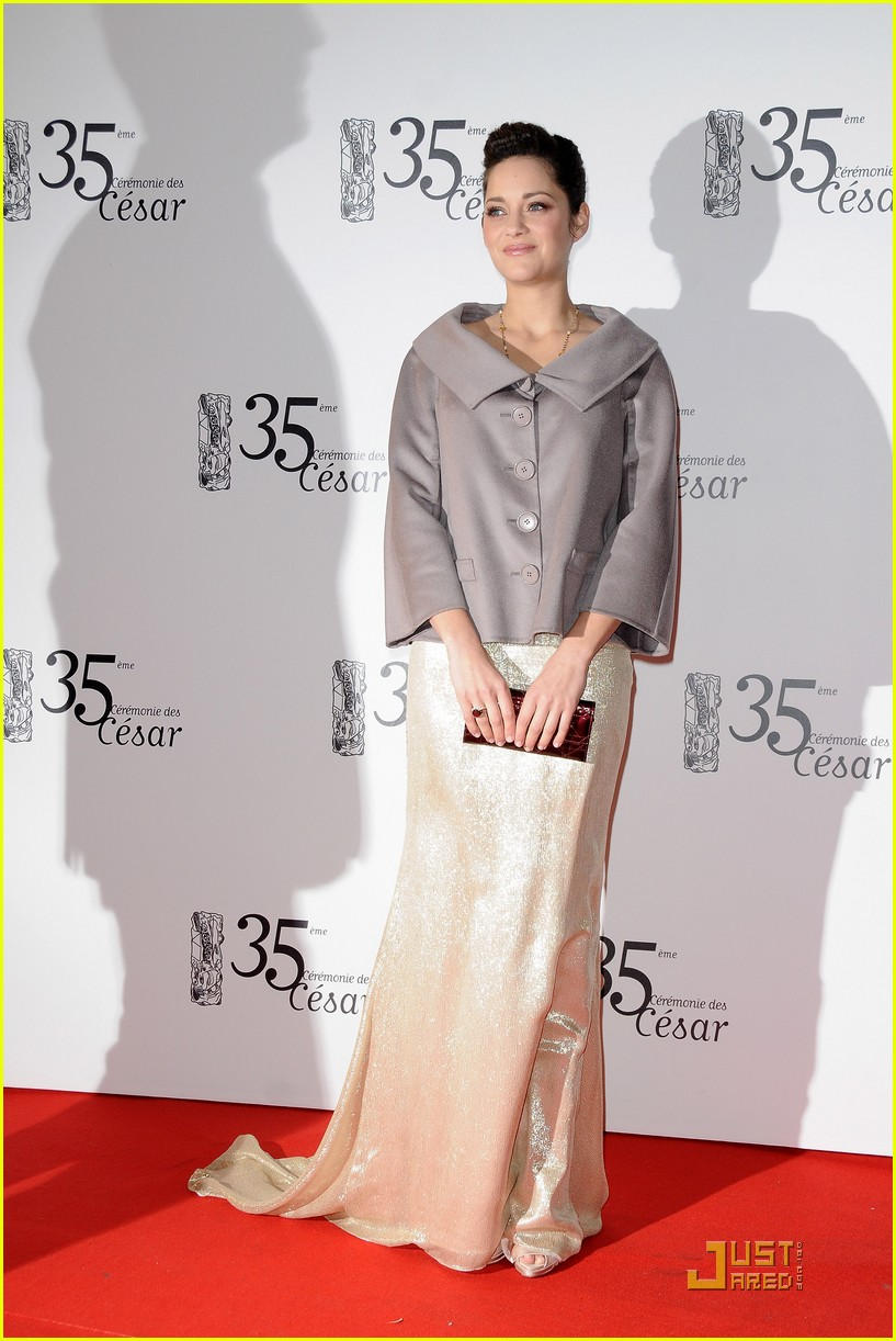 marion cotillard cesar film awards 2010 09