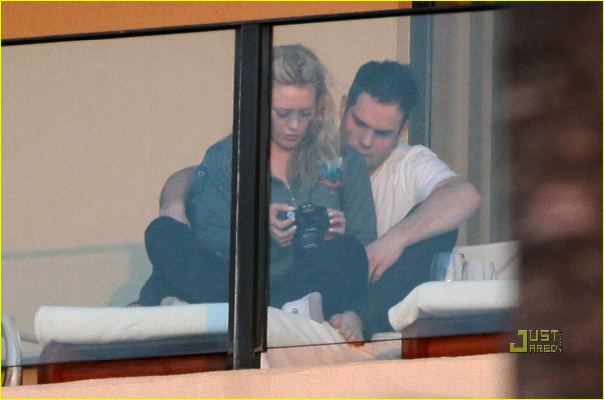 hilary duff mike comrie proposal hawaii 13