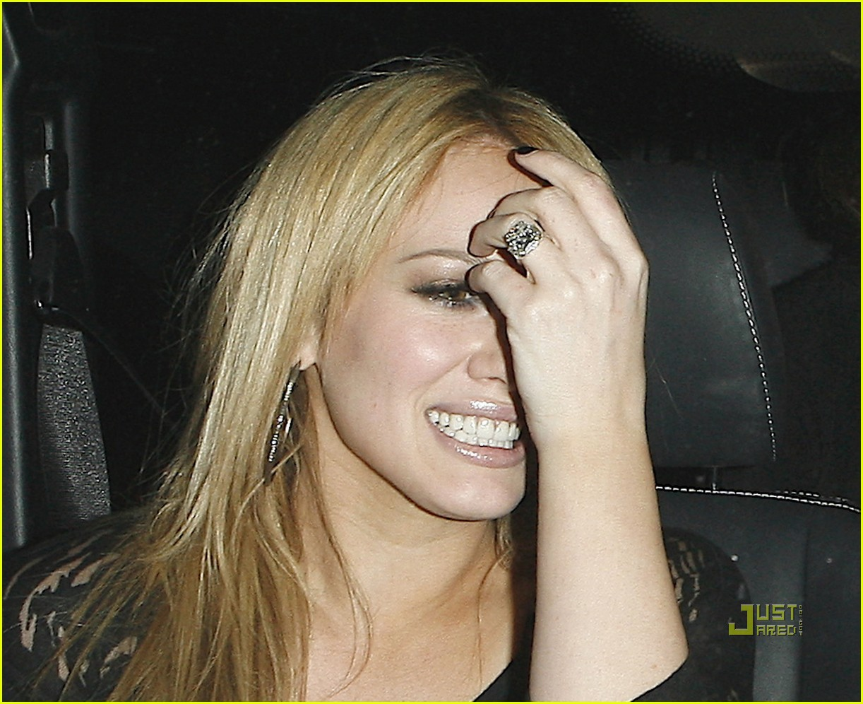 mike comrie 1 million engagement ring for hilary duff