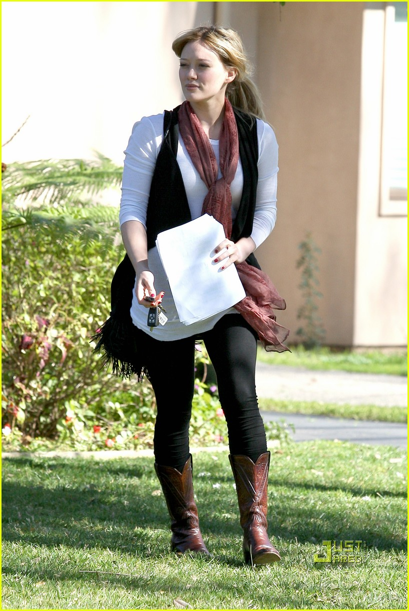 hilary duff script north hollywood 052425193