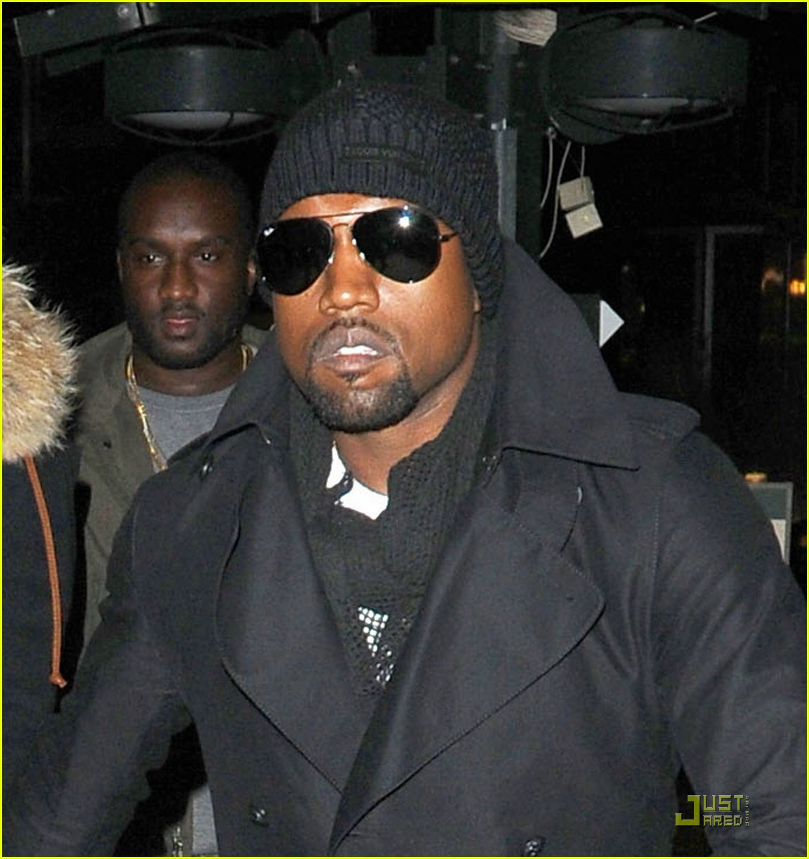 kanye west amber rose black eyed peas fans 012430421