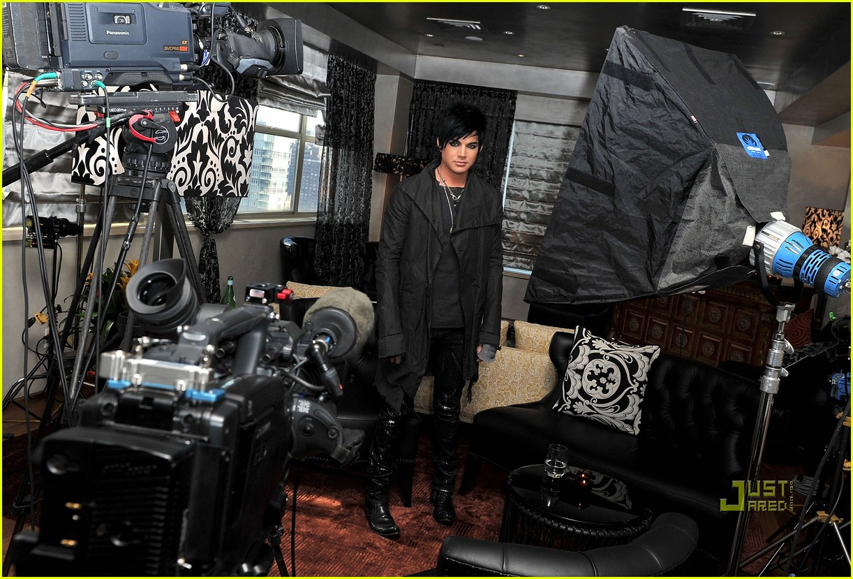 adam lambert shoots nightline interview 02