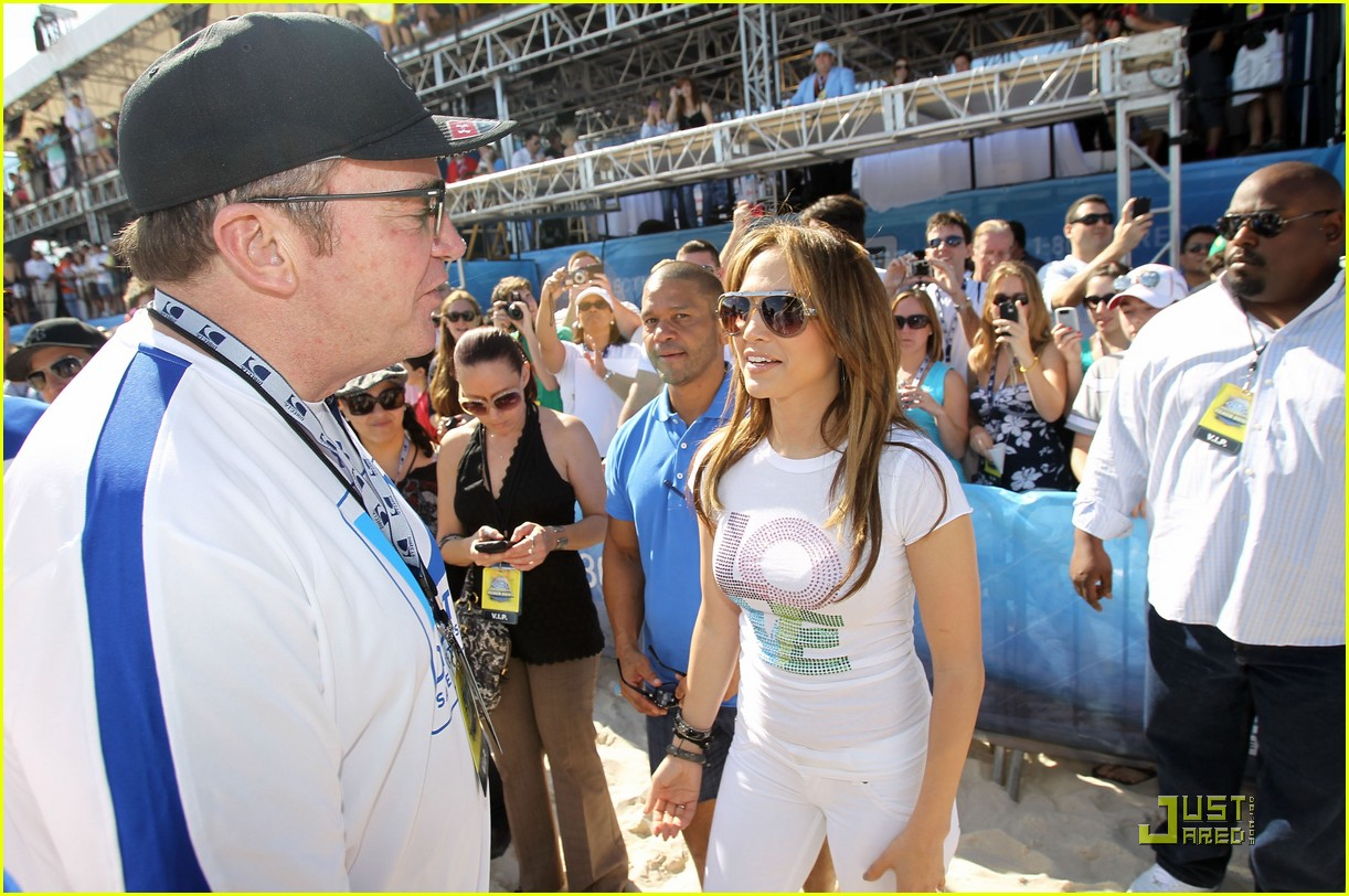 jennifer lopez directv celebrity beach bowl 272425954