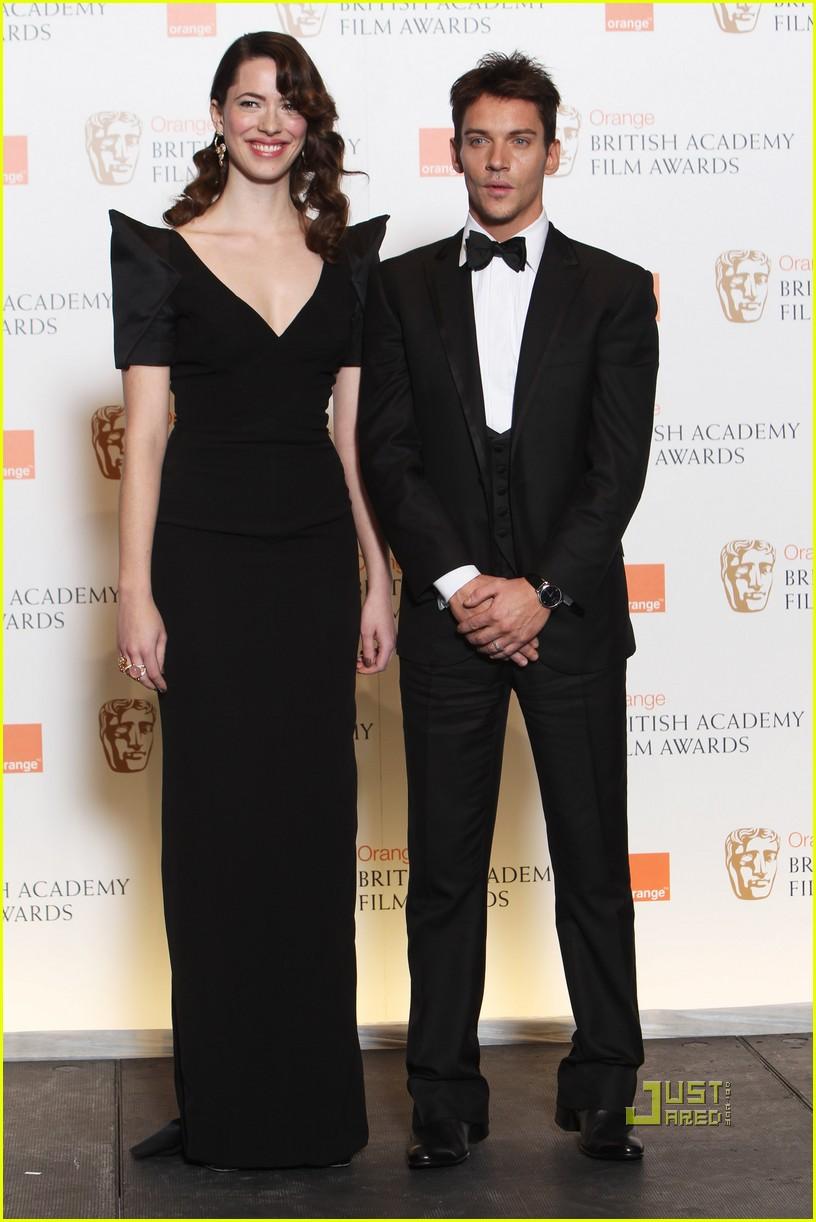 Jonathan Rhys Meyers And Girlfriend 2013 Jonathan Rhys Meyers BAFTA