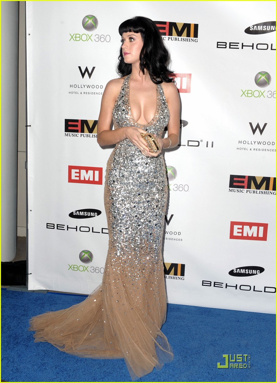 katy perry grammys 2010 emi party 022413346