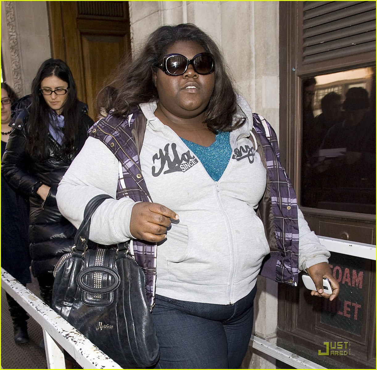 gabourey sidibe bafta awards 2010 02