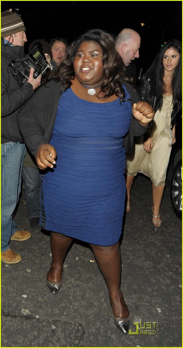 gabourey sidibe bafta awards 2010 03