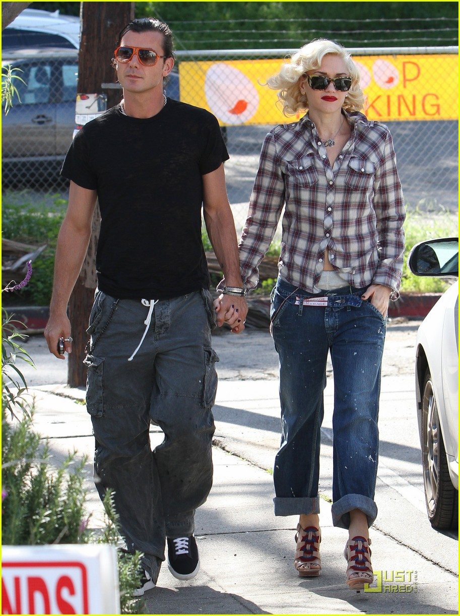 gwen stefani rossdale lunch lovebirds 10