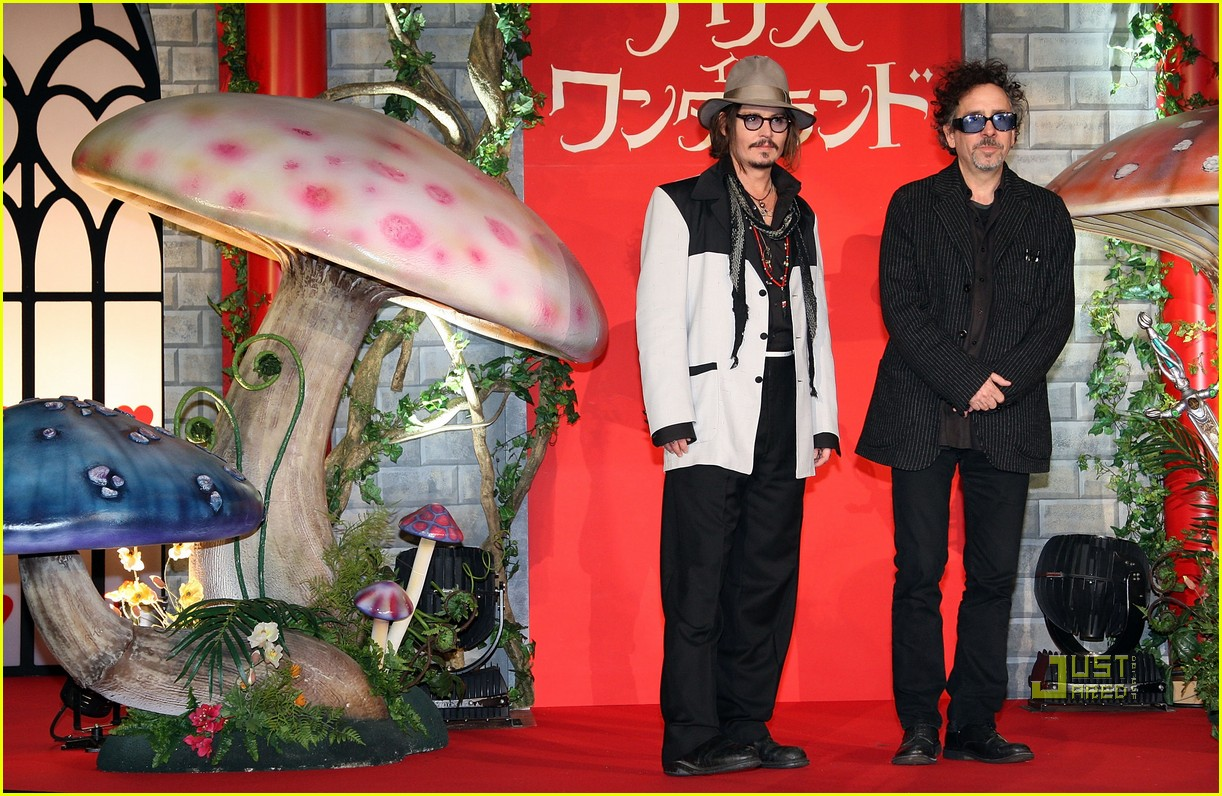 johnny depp alice in wonderland japan premire 05