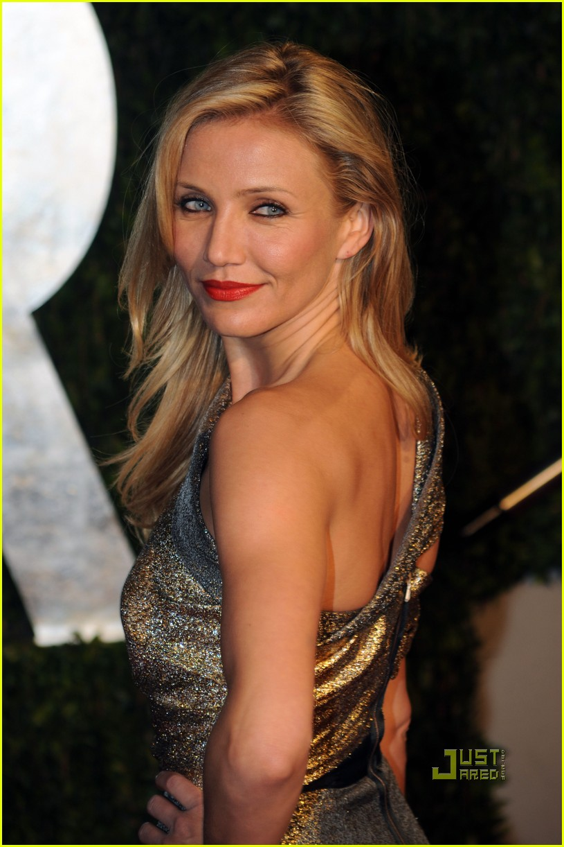 cameron diaz vanity fair 2010 oscars after party 01
