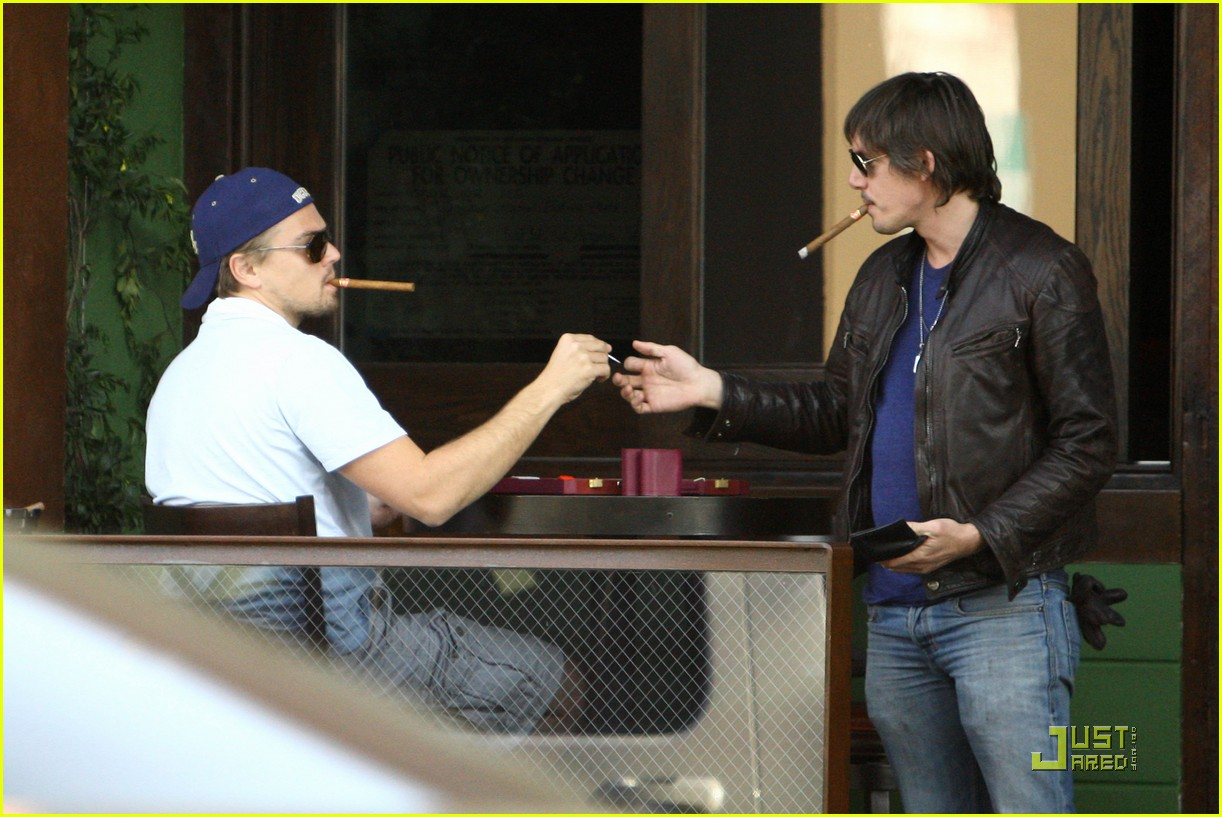 leonardo dicaprio chess and cigars 07