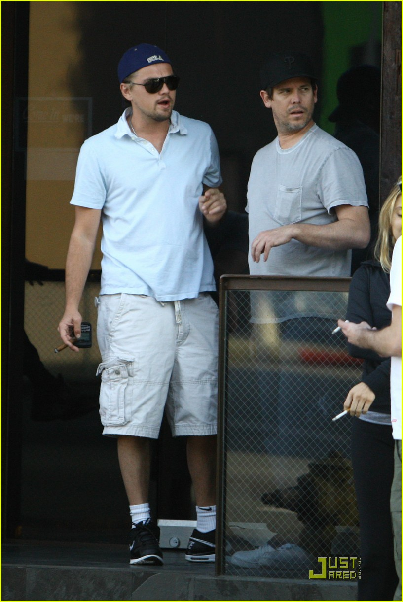 leonardo dicaprio chess and cigars 10