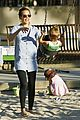 jessica alba honor warren play at the park 10
