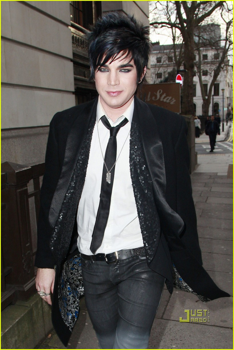 adam lambert bowling alley london 102437693