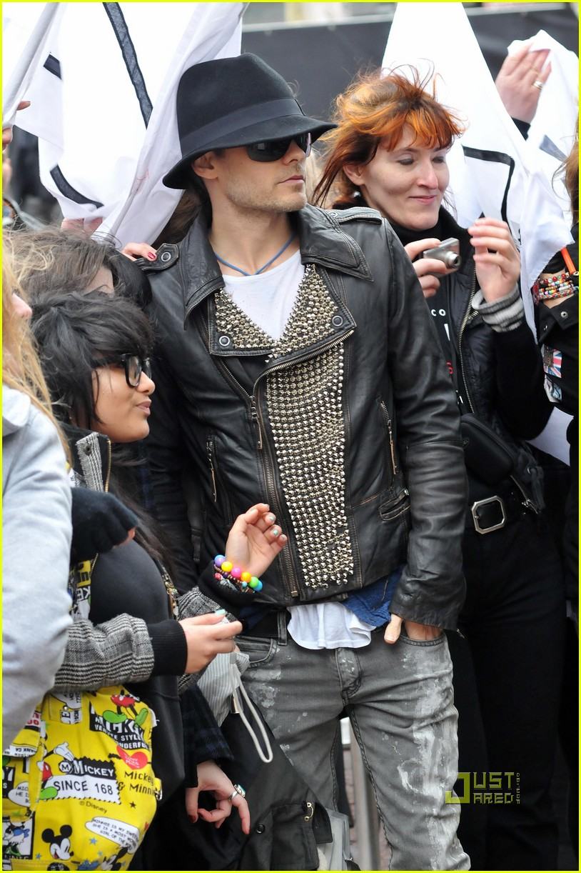 ... of jared leto bad romance lady gaga 17 | Photo 2438414 | Just Jared Jared Leto