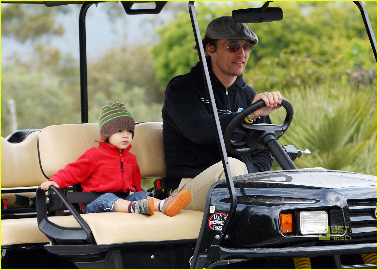 levi matthew mcconaughey golf cart 03