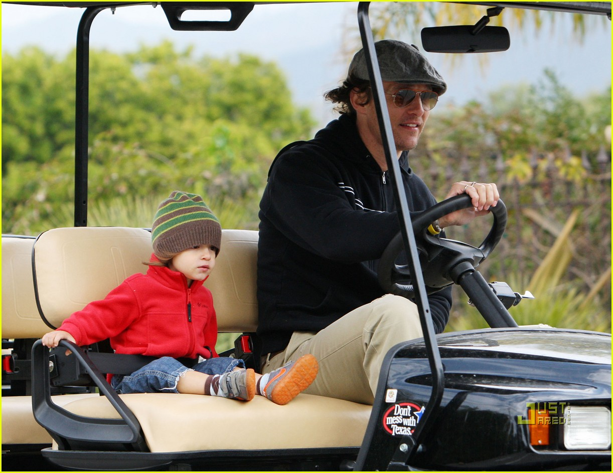 levi matthew mcconaughey golf cart 05