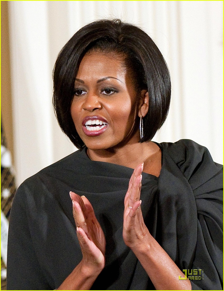 michelle obama celebrates international womens day 052433464