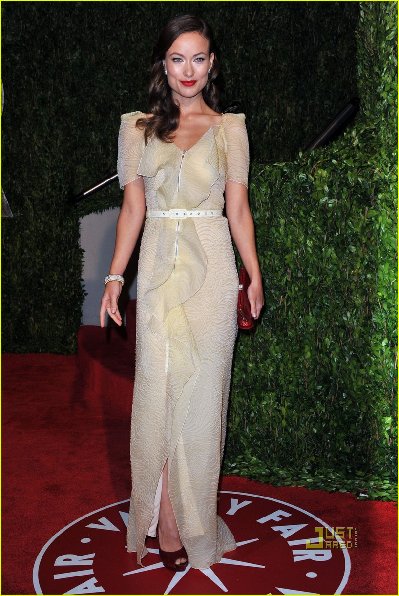 olivia wilde vanity fair post oscar party 2010 01