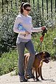 jessica biel walking dogs 04