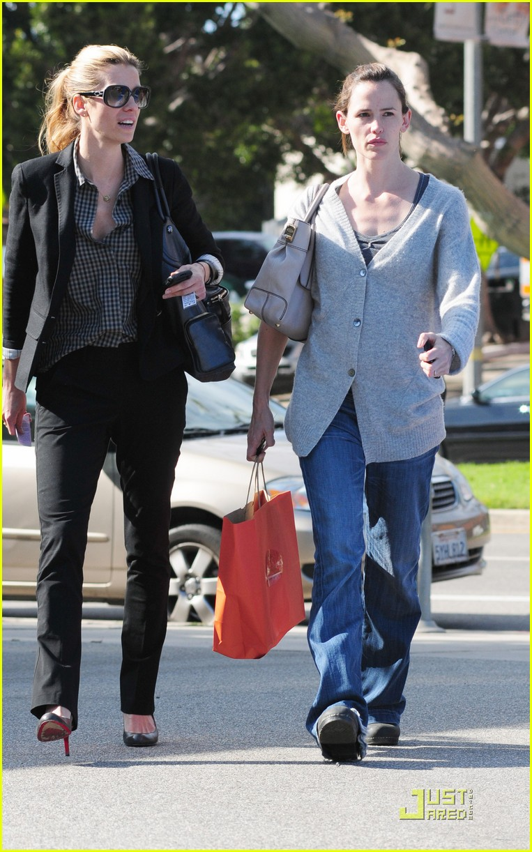 jennifer garner shopping girls 04