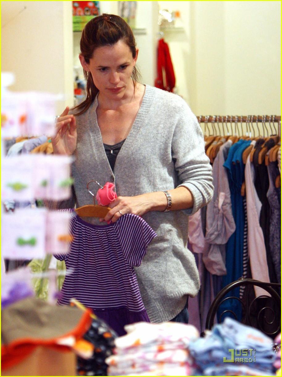 jennifer garner shopping girls 09
