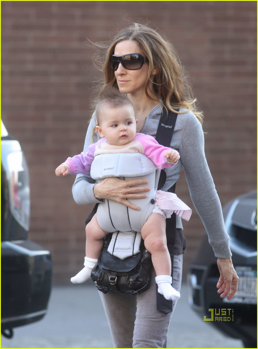 sarah jessica parker baby new york city 09