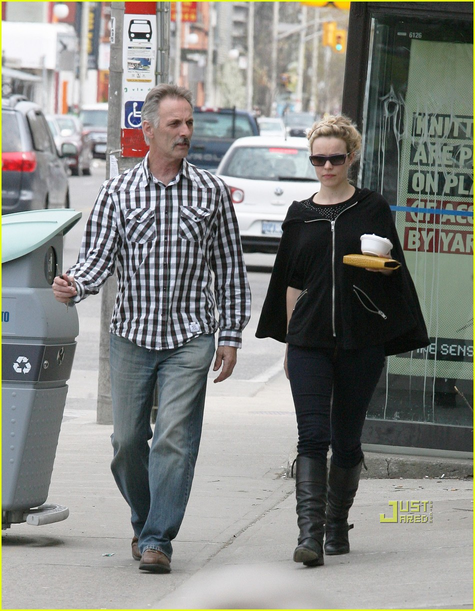 Photo of Rachel McAdams & her Father  Lance McAdams