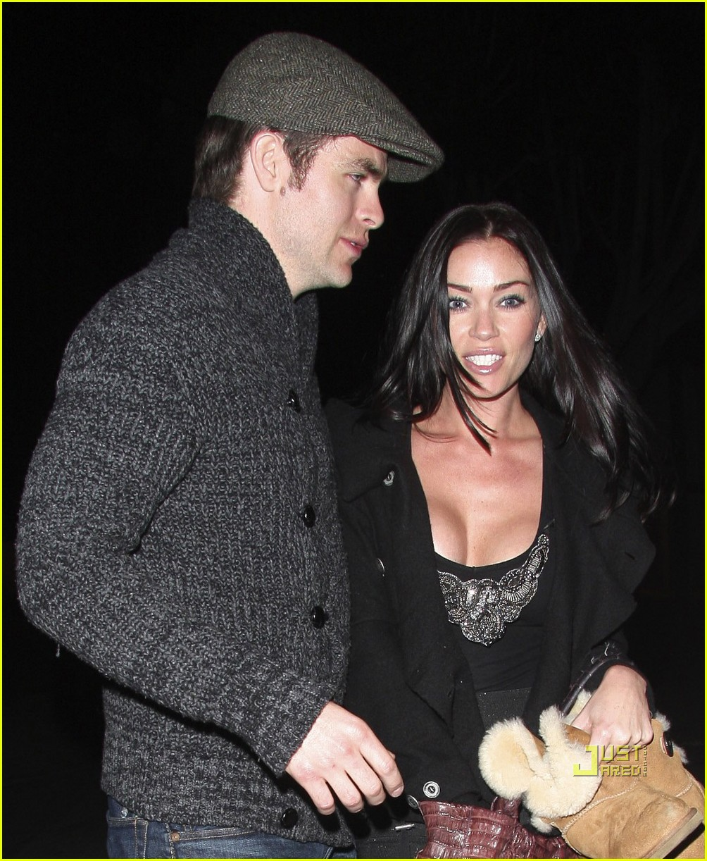 chris pine jasmine waltz date night 07