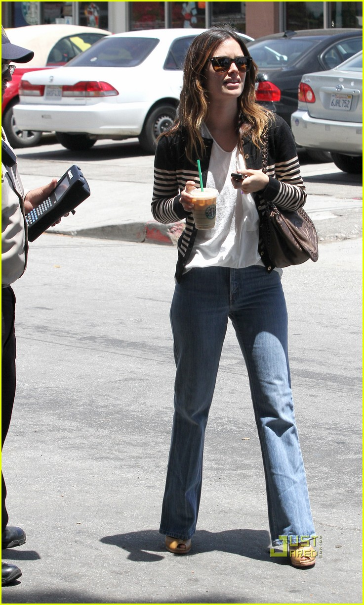 rachel bilson parking ticket 14