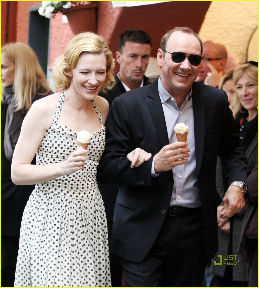 cate blanchett kevin spacey iwc watch ad 012449241