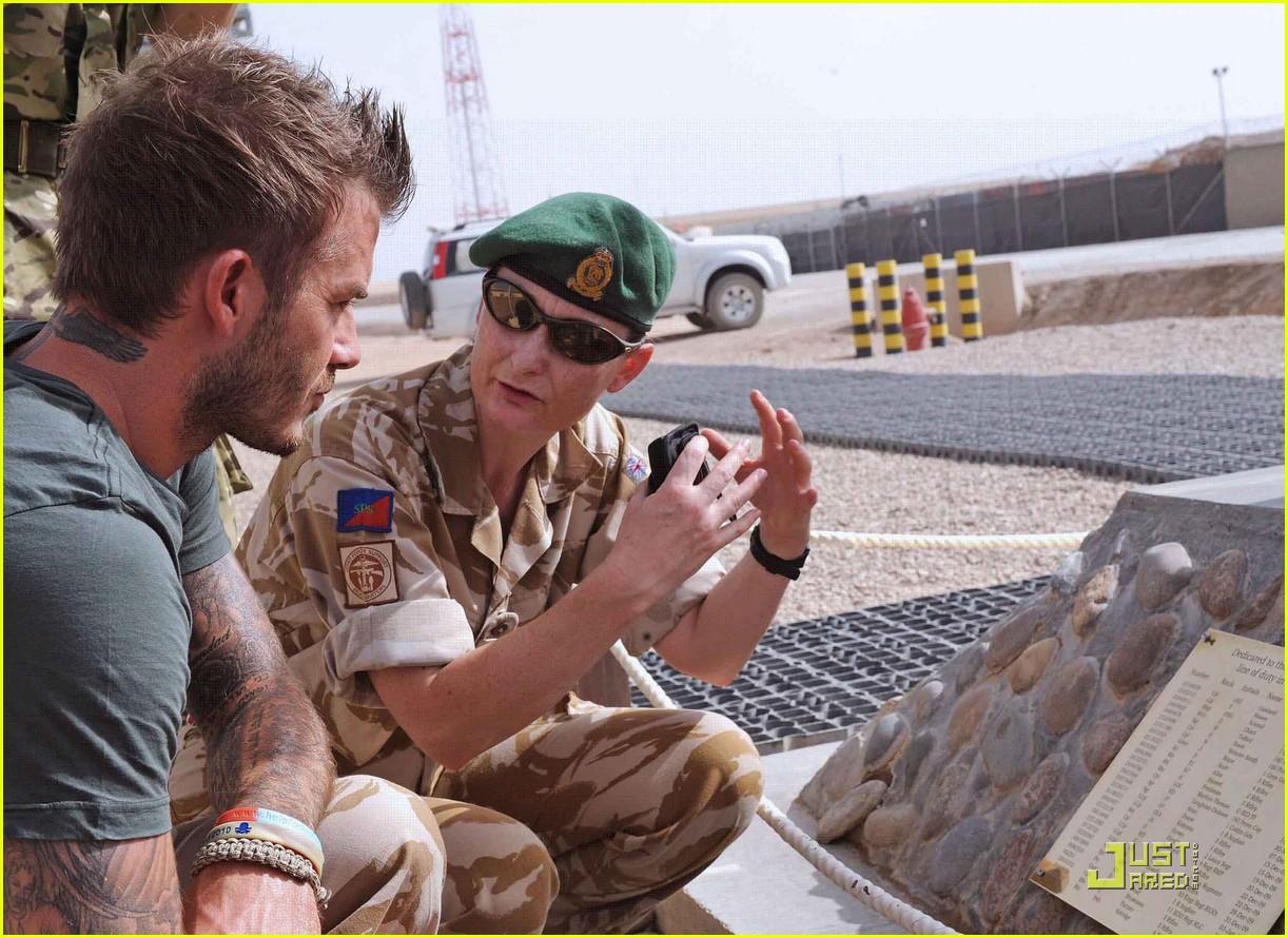 david beckham boosts british troop morale 14