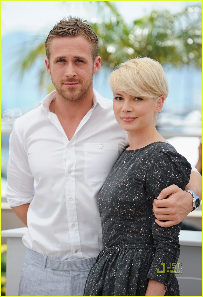Michelle Williams Ryan Gosling Blue Valentine Photocall 2010 Cannes 05