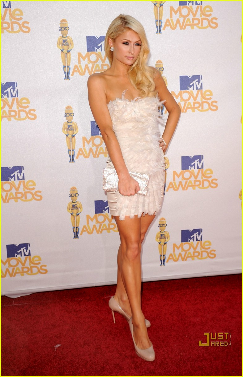 paris hilton nicky hilton mtv movie awards 2010 01