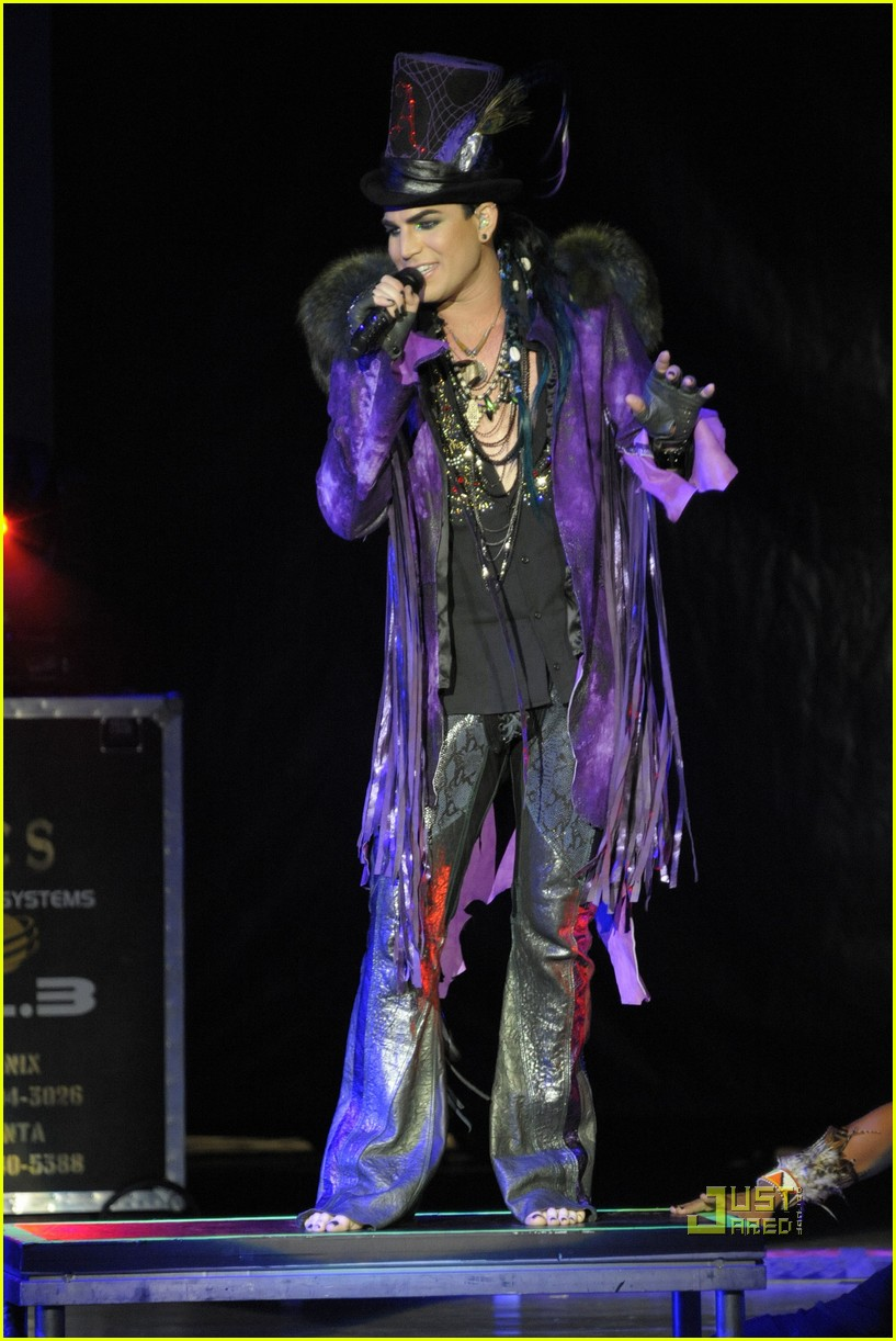 adam lambert wham bam concert 16