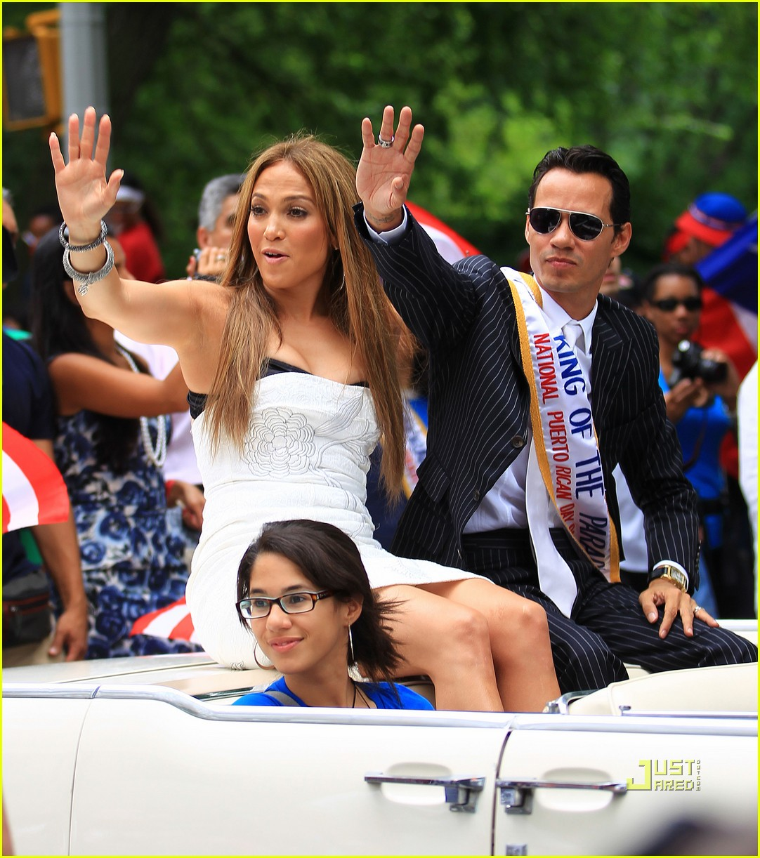 Jennifer Lopez Puerto Rican Day Parade
