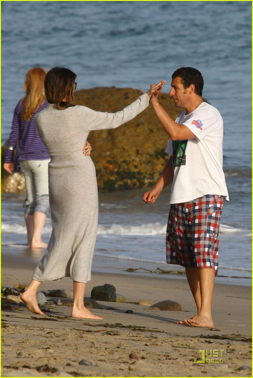 Full Sized Photo Of Adam Sandler Sadie Sunny Day Beach 15
