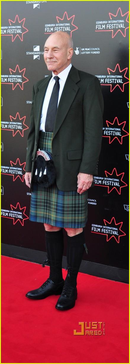 patrick stewart kilt edinburgh film festival 052459456