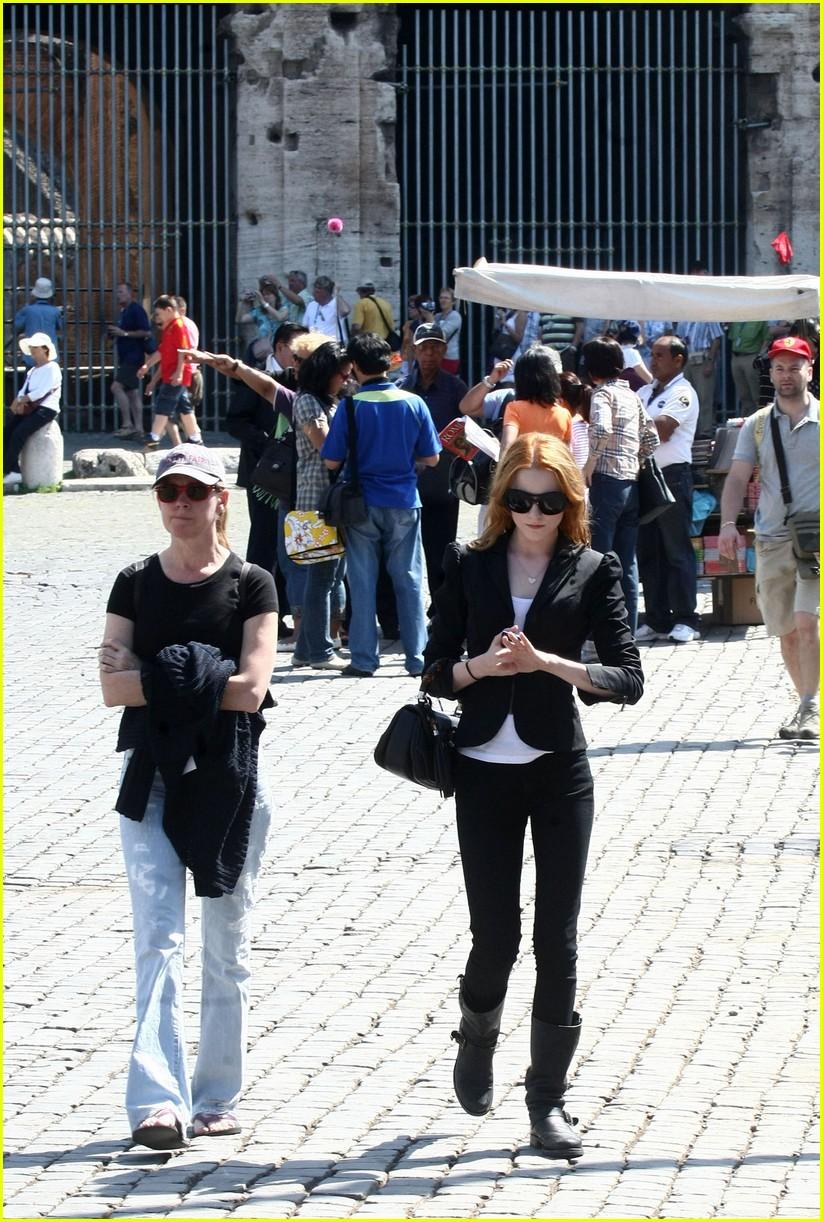 evan rachel wood rome tourist 10