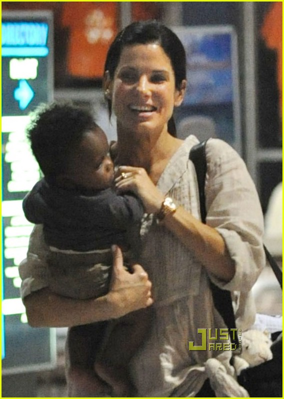 sandra bullock louis austin flight 02