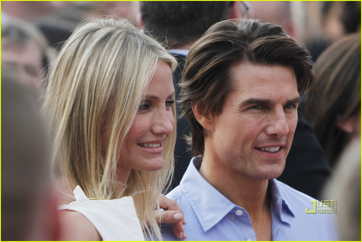 tom cruise cameron diaz knight day munich germany 01