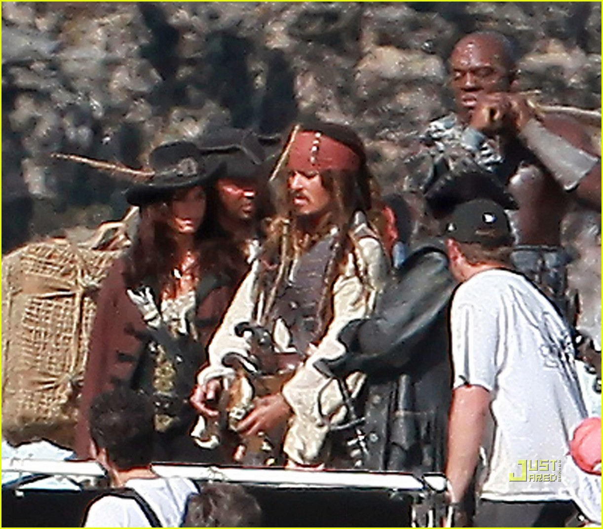 johnny depp penelope cruz pirates 4 oahu 06