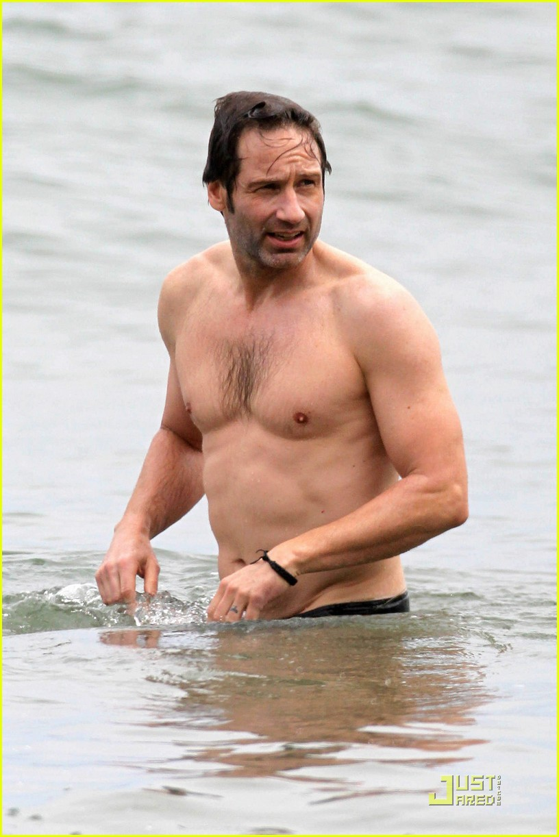 david duchovny shirtless independence 03