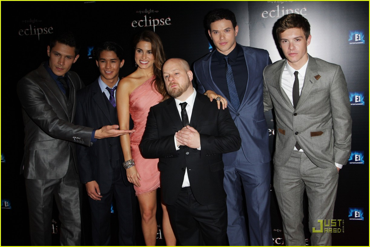 twilight cast eclipse london premiere 05